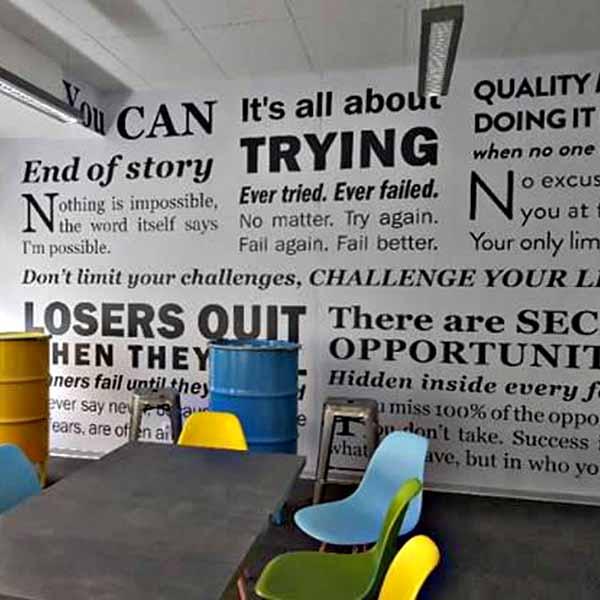 interijer zid oslikavanje