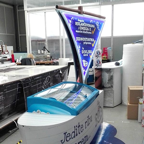 Ledo skrinja brod 3d 2